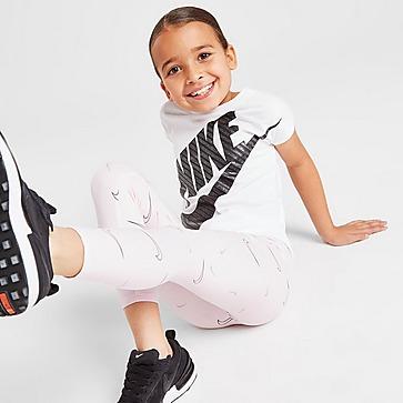 Nike Leggings Girls' All Over Print Swoosh para Criança