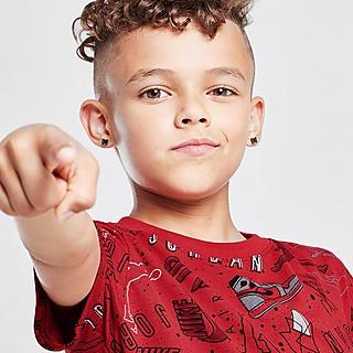 Jordan T-Shirt All Over Print Graphic para Criança