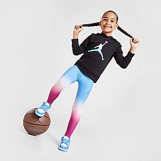 Jordan Set Camisola com Capuz/Leggings Girls' Jumpman Fade para Criança