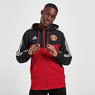 adidas Casaco com Capuz Manchester United FC 3-Stripes