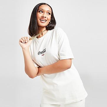 Fila x Coca-Cola Logo Oversized T-Shirt