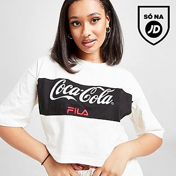 Fila x Coca-Cola Panel Logo Crop T-Shirt