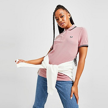 Fred Perry Polo Twin Tipped de Mulher