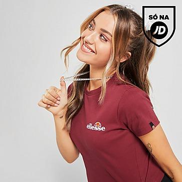 Ellesse T-Shirt Baby Rib Crop