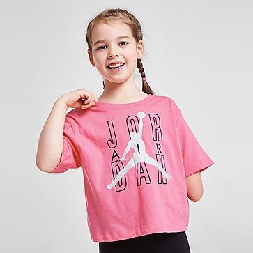 Jordan T-Shirt Girls' Jumpman Shine para Criança