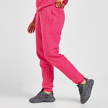 Nicce Joggers Embroidered Logo de Mulher