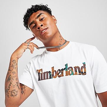 Timberland T-Shirt Camo Infill Logo