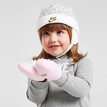Nike Conjunto Gorro/Luvas  Trappers para Bebé