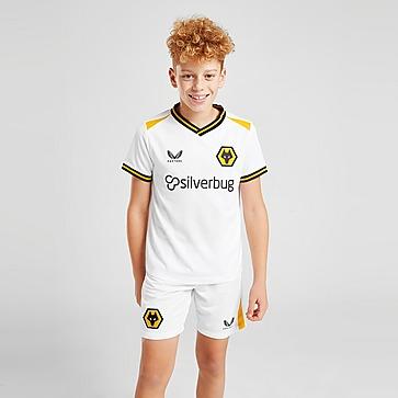 Castore Calções do Equipamento Alternativo Wolverhampton Wanderers 2021/22 para Júnior