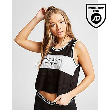 Buy Black adidas Originals 3 Stripes Crop Tank Top   JD Sports