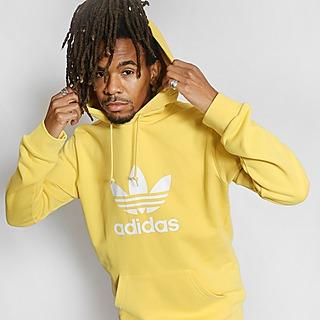Gul Adidas Originals Huvtröjor Kläder | JD Sports Sverige