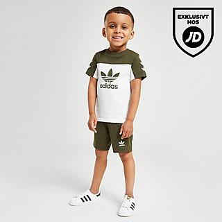 Adidas Originals Infant Girls Trefoil Shorts Set Tee /& Shorts Full Set Baby Kids