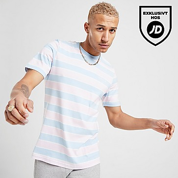 Blå Adidas Originals T Shirts och Linnen Kortärmat | JD Sports