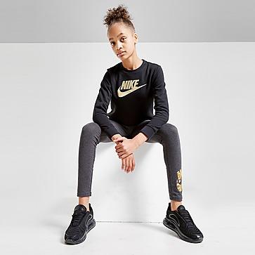 Nike Girls' Shine Crew Sweatshirt Junior