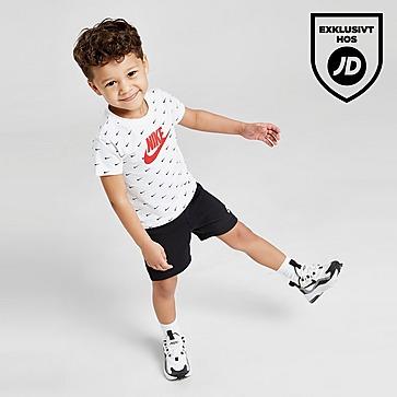 Nike Swoosh All Over Print T-Shirt & Shorts-set Baby