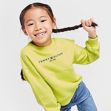 Tommy Hilfiger Girls' Essential Crew Sweatshirt Children