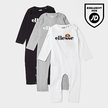 Ellesse Sulino 3-Pack Långärmad Body Baby