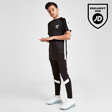 11 Degrees Cut & Sew Poly Panel T-Shirt Junior