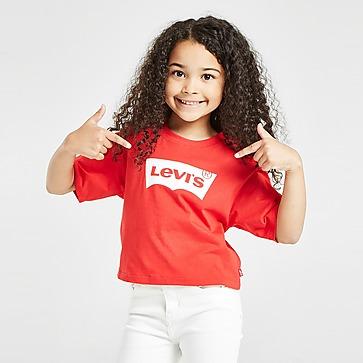 Levis Batwing Crop T-Shirt Barn