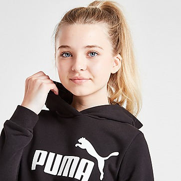 PUMA Girls' Essential Logo Fleece Hoodie Junior