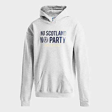 Official Team Skottland No Party Hoodie Junior