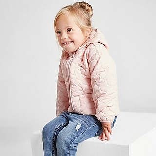 Tommy Hilfiger Girls' Reversible Jacket Infant