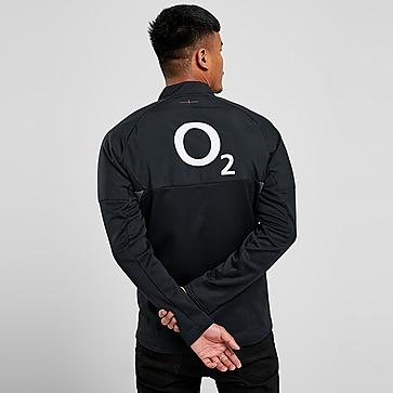 Umbro England RFU 2021 1/2 Zip Fleece Top