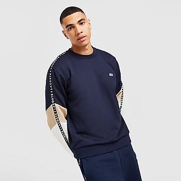 Lacoste Colour Block Tape Crew Sweatshirt