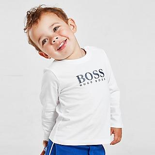 BOSS Large Logo Long Sleeve T-Shirt Infant