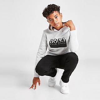 BOSS Essential Logo Overhead Hoodie Junior