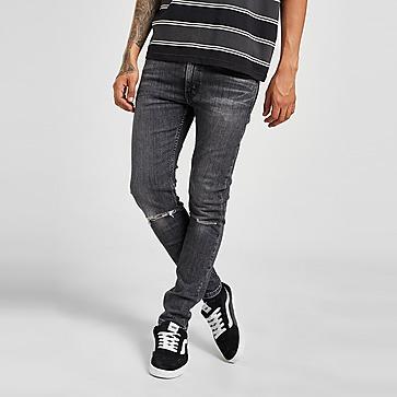 Levis 519 Skinny Distressed Jeans Herr