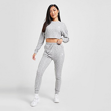 SikSilk Soft Ribbed Joggers
