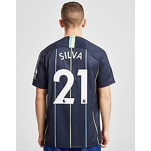428a581dc Nike Manchester City FC 2018/19 Silva #21 Away Shirt ...