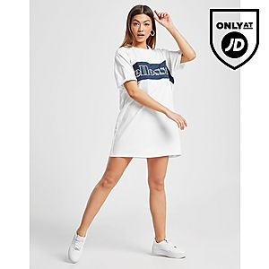 0cfc664c ... Ellesse Piping Panel T-Shirt Dress