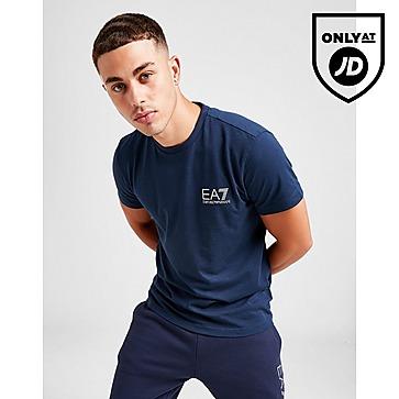 Emporio Armani EA7 Reflective Tape Spine T-Shirt