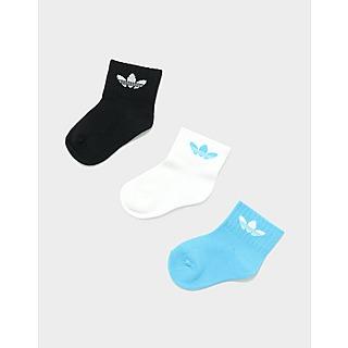 adidas Originals Kids' 3 Pack of Ankle Socks