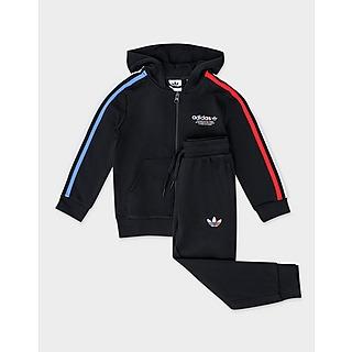 adidas Originals Adicolor Full Zip Hoodie Set Children