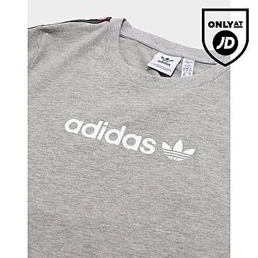 adidas Originals Lintape Boyfriend T-Shirt Junior