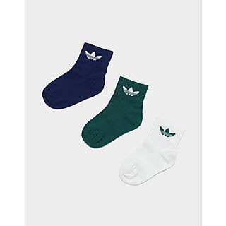 adidas Originals Mid-Ankle Socks 3 Pairs Children