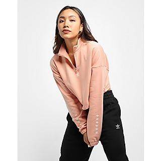 adidas Originals 1/2 Zip Crop Top Women's
