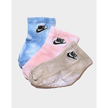 Nike Tie Dye 3-Pack Gripper Socks Infant