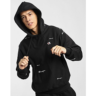 Champion Reverse Weave All Over Print Pullover Hoodie