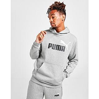 Puma เสื้อฮู้ด Core Logo Overhead