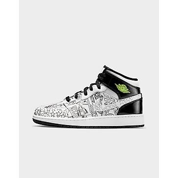 Jordan รองเท้าเด็กโต Air 1 Mid DIY