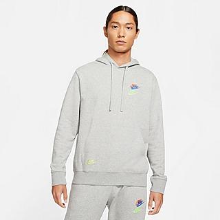 Nike เสื้อฮู้ดดี้ผู้ชาย Essentials+ French Terry Hoodie