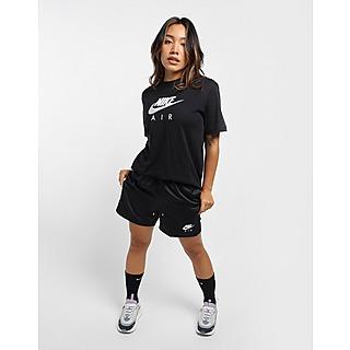 Nike กางเกงขาสั้นผู้หญิงเอวสูง Air Woven