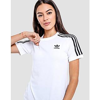 adidas Originals เสื้อยืดผู้หญิง Adicolor Classics 3-Stripes