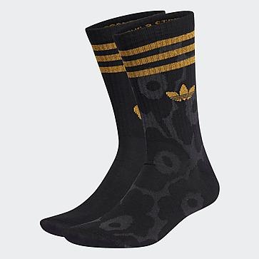 adidas Originals ถุงเท้า Crew Marimekko 2 คู่