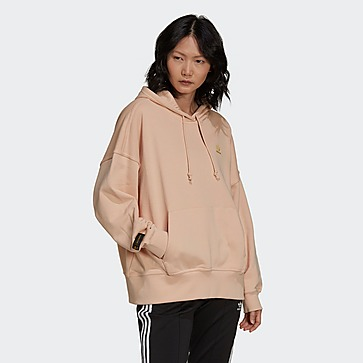 adidas เสื้อฮู้ด Marimekko Oversize With Golden Flower Graphic