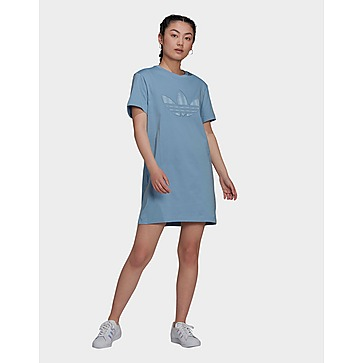 adidas Originals เดรสผู้หญิง Trefoil Application Tee Dress